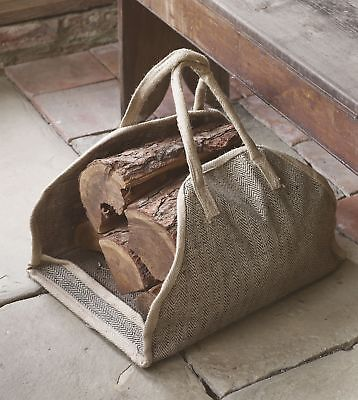 Dibor - French Style Accessories for the Home Strong Log Carrier bag (y4i)