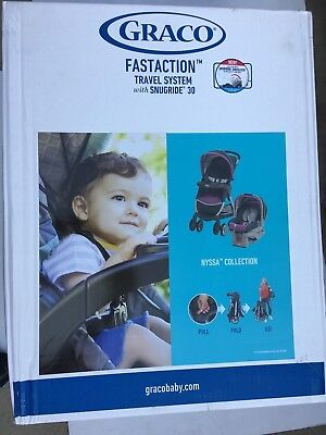 Graco Fastacton Travel System With Snugride 30