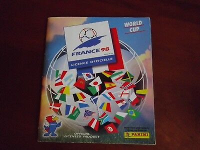 Panini Foot World Cup France 98 Au Choix