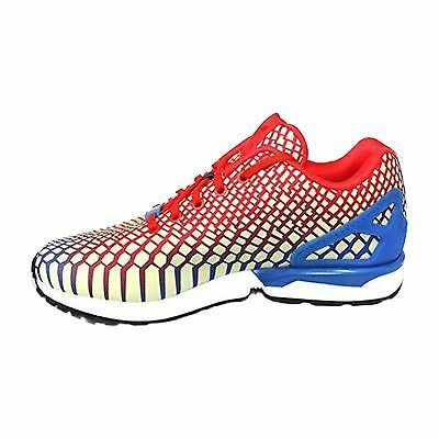 45dc93aff1469 ... canada adidas originals zx flux xeno mens running shoes red blue white  size 10 nib 99.95