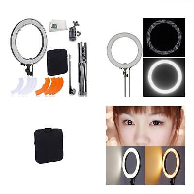Ultimaxx Camera Photo & Video 18 Inch 240 LED Dimmable 5500K Ring Light With +
