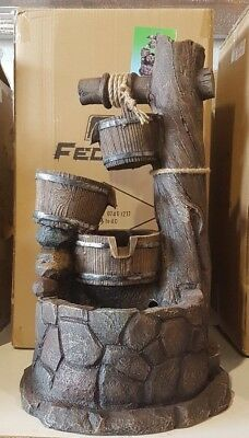 """Feature water  """"Pozo 3 cubos""""  60 cm"""