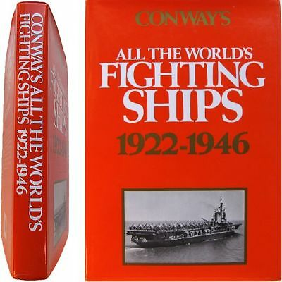 Conway All the World's Fighting Ships 1922-1946 Chesneau marine guerre navire