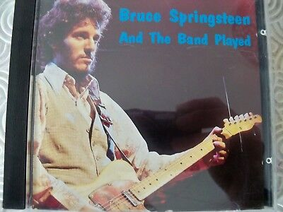 """Bruce Springsteen """"And The Band Played""""Cd Live Cleveland Agora' 1974 Swingin Pig"""