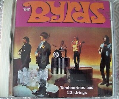 "Byrds ""Tambourines And 12 Strings"" Cd Rare Demos & Alternatives Gold Standard"