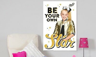 JoJo Siwa Poster Bows Limited Edition - Perfect Christmas Gift Be Your Own Star