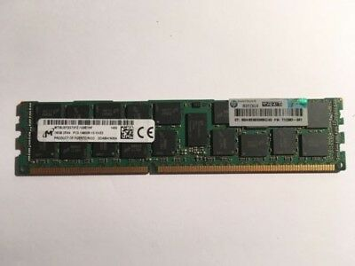 Genuine HP 16GB 2RX4 PC3-14900R Registered Ram DDABA1N004