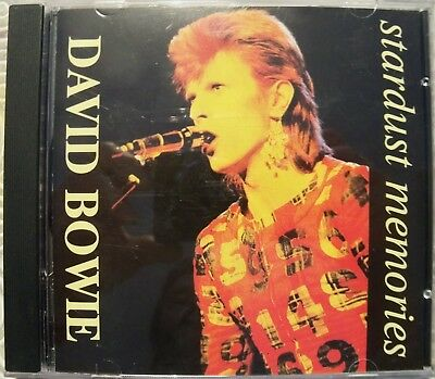 "David Bowie ""Stardust Memories"" Cd Rare Outtakes And Demos 1969 - 1972 Japan"