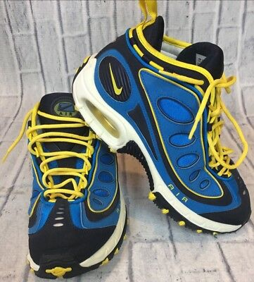 26641545d31c98 90S VTG NIKE AIR MAX 97 ACG Trail Shoes 11 Men Bubble 173130 471 Neon 3M  Blue OG