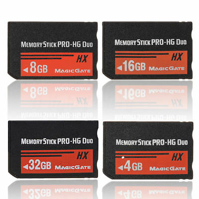 4/8/16/32GB Memory Stick MS Pro Duo Memory Card For Sony PSP Cybershot Camera