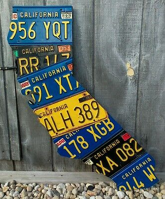 License Plate States Any State You Want From The Us Map - Us-map-made-out-of-license-plates
