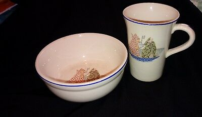 Juvenile Ware Cup & Bowl, Universal Pottery