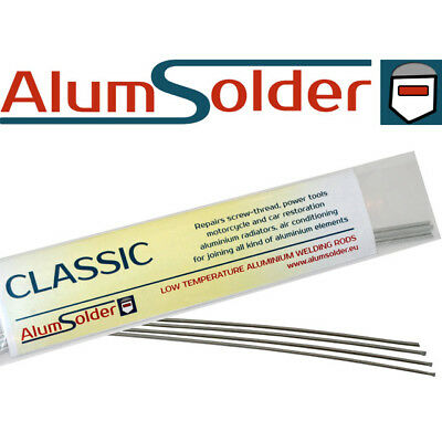 AlumSolder Classic - Low temp ALUMINIUM and its ALLOYS soldering rods, welding