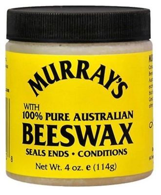 Murray's Yellow 100% Pure Australian Beeswax Pomade 114g