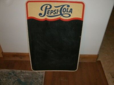Vintage Pepsi Cola Chalk Board Menu