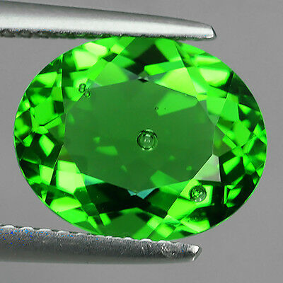 3.74 Ct Wonderful Chrome Green Natural Moldavite Oval Cut Loose Gemstones