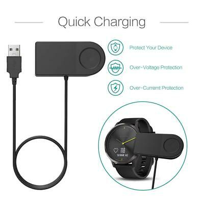 New Replacement USB Charger for Garmin Forerunner 230 235 630 735XT Data Sync UK