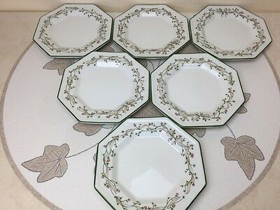 "Johnson Brothers Eternal Beau 6 x 6.1/8"" Side/tea Plates Superb Condition"