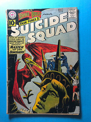 The Brave and the Bold 38 DC 11/61 Suicide Squad A1