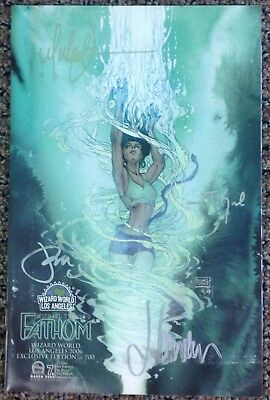 Fathom #7b Wizard World L.A. Exclusive Limited to 700 Signed by Michael Turner