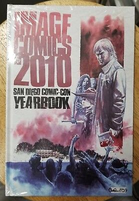 Image Comics San Diego Comic Con Yearbook 2010 Walking Dead Hardcover Sealed New