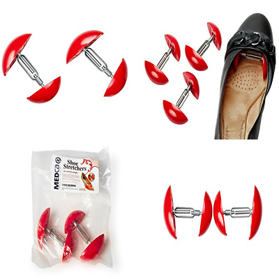Shoe Stretcher Sold As A Pack Of 2 FREE SHIPPING RED One Size Fits All