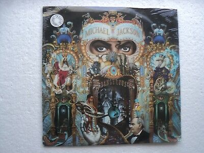 MICHAEL JACKSON - Dangerous - Super rare / Sealed South Africa DLP
