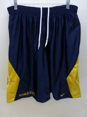 buy popular f87a6 7ce29 Nike Marquette Golden Eagles reversible basketball practice Shorts mens sz  XL