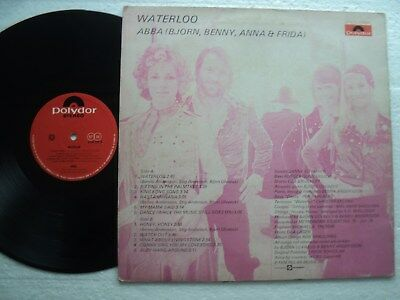 ABBA - Waterloo - Super rare  HONG KONG only release LP