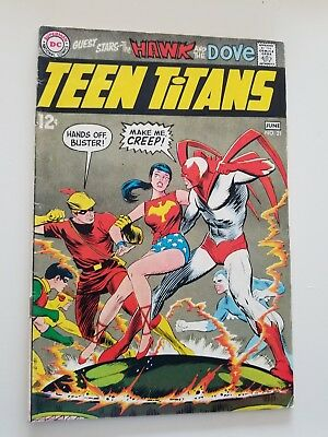 Teen Titans #21 (May-Jun 1969, DC) Neal Adams  artist
