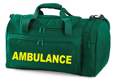 AMBULANCE Carry Kit Bag Printed Medic FIrst Aid Doctor  Holdall