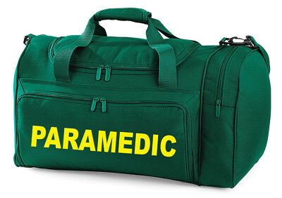 PARAMEDIC Carry Kit Bag Printed Medic FIrst Aid Doctor Amblance Medic Holdall