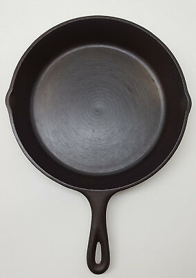 Lodge Vintage No. 8 Cast Iron Pan 1950s Seasoned Fully Restored and Ready to Use