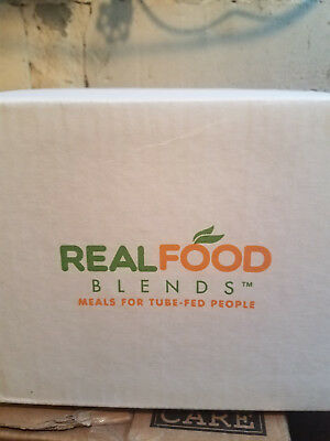 Real Food Blends (Orange Chicken, Carrots and Brown Rice) flavor - box of 12
