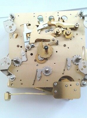 Hermle-WTC  mantel clock  movement 1050-020 3 chimes with 6 bronze bushing.