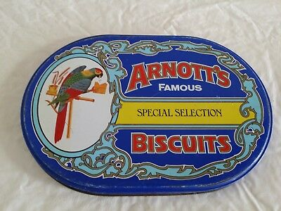 Arnott's Special Selection LID ONLY Biscuit Tin