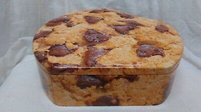 400g Chocolate Chip Cookie Biscuit Tin ( postage OK)