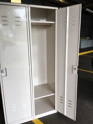 Heavy Duty High Quality Single Metal Sloping Top Locker Cabinet