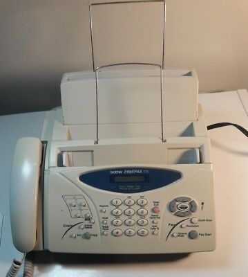 Brother IntelliFAX-775 Plain Paper Fax Phone & Copier - FREE Shipping!