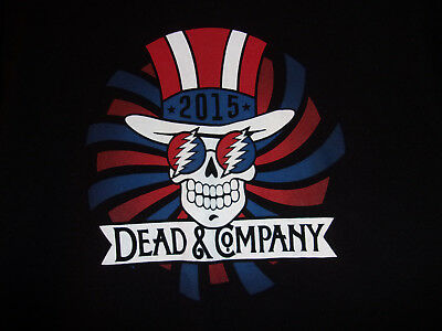 Dead & Company 2015 Tour T Shirt Size Large Free Shipping!