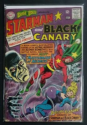 Brave and Bold #61 Black Canary and Starman