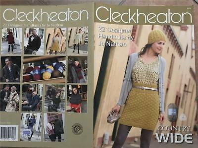 CLECKHEATON Country Wide KNITTING BOOK 969 22 DESIGNER HANDKNITS BY JO NATHAN