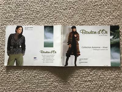 Bouton d'On KNITTING BOOK AUTUMN COLLECTION, KNIT DESIGNS PATTERNS