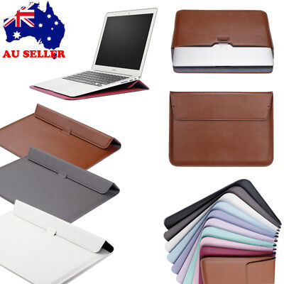 "PU Leather Envelop Laptop Sleeve Carry Bag Case For Macbook Air Pro 11""12""13"
