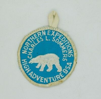 Vtg 1970s Boy Scouts Charles L Sommers Northern Expeditions High Adventure Patch