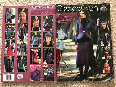 Cleckheaton Vintage Hues Knitting Book 952 14 Designs Knit Patterns