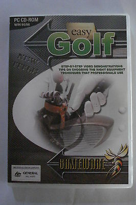- Easy Golf Pc Cd-Rom [Everything You Need To Know] As New  [Now $19.25]