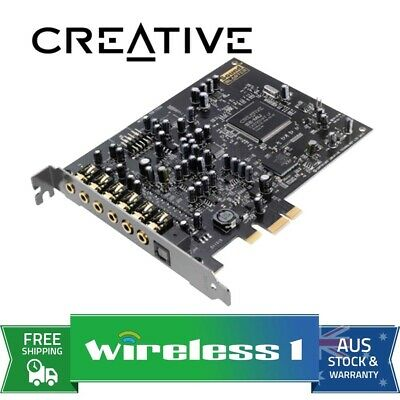 Brand New Creative Sound Blaster AudigyRX 7.1 PCIe Soundcard Audigy RX