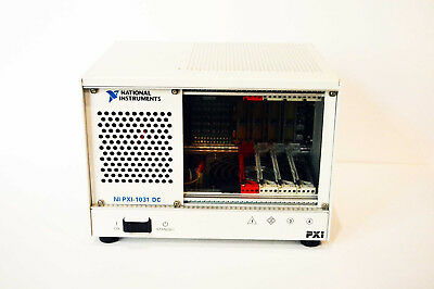 National Instruments NI PXI-1031 DC 4-Slot 3U PXI Chassis p/n  191746E-01