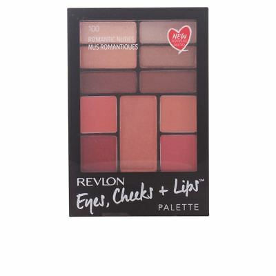 Revlon Eyes Cheeks and Lips Compact -#100 Romantic Nudes
